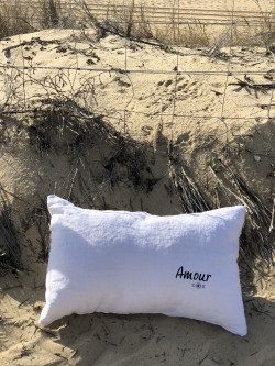 "Coussin ""Amour"""