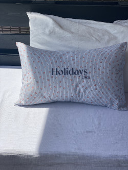"Cushion ""Holidays"""