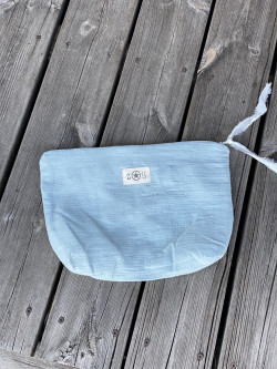 Cotton gauze pouch with...