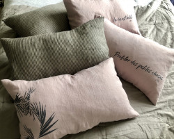 """Coussin """"Feuillage"""""""